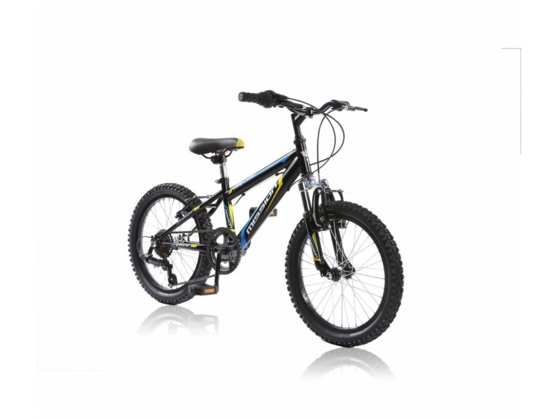 Mountainbike 18inch - Mission 6-spd zwart