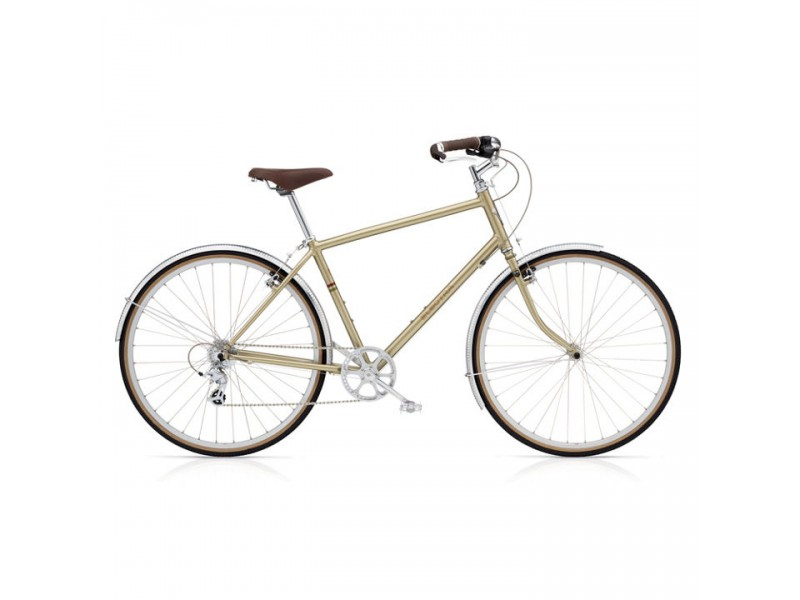 Herenfiets - Electra Ticino 8D gold patina Large