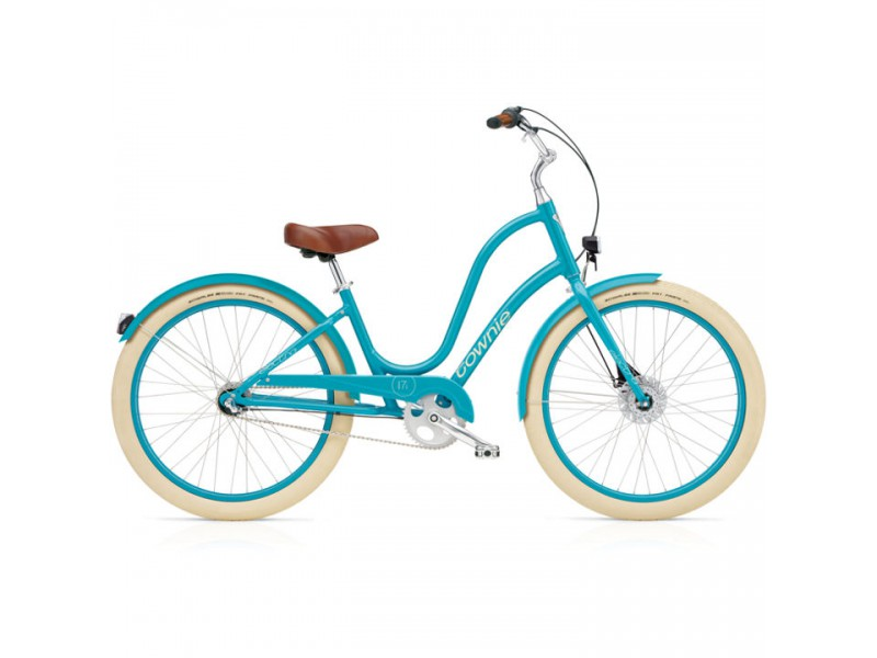 Damesfiets 26 inch - Electra Townie Balloon 7i EQ Ladies azure