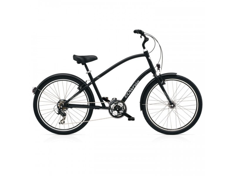 Herenfiets 26inch - Electra Townie 21D EQ black satin Tall
