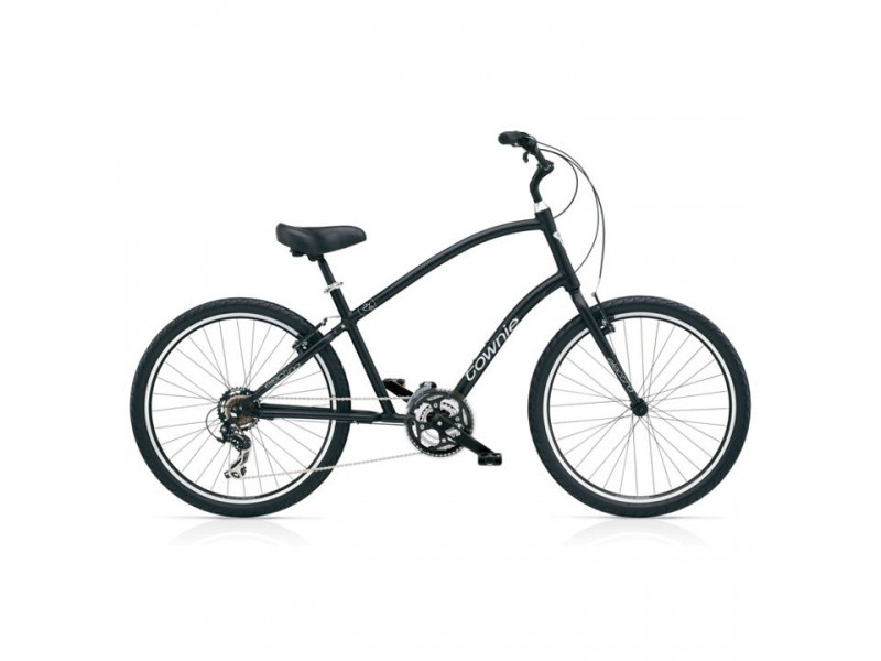 Herenfiets 26inch - Electra Townie 21D black satin
