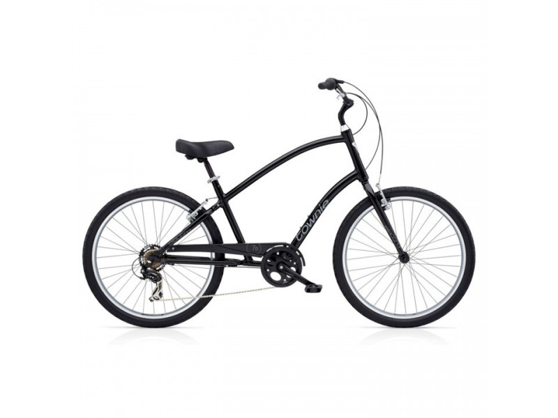 Herenfiets 26 inch - Electra Townie 7D black Tall