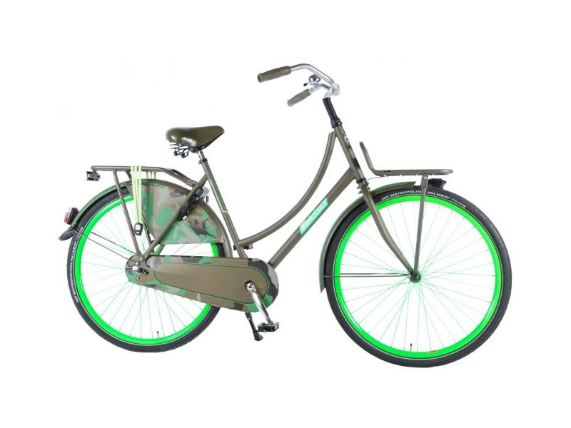 Omafiets 28inch - Salutoni Camouflage 56cm