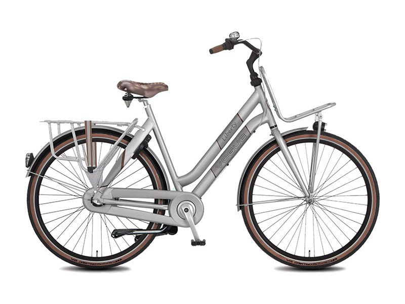 Transportfiets 28inch - Vogue Liberty Silver