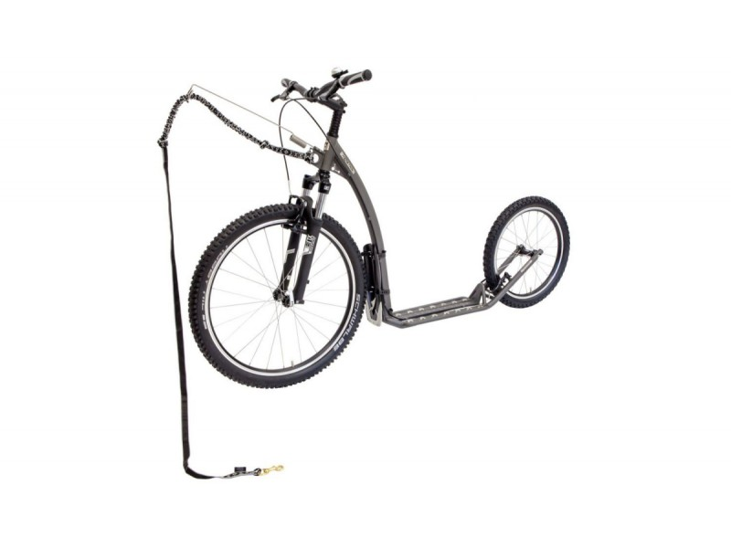 1. Kostka Footbike - Mushing Fun G5 Grey