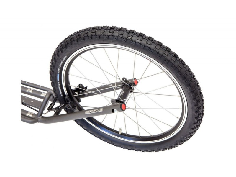 11. Kostka Footbike - Mushing Fun G5 Grey