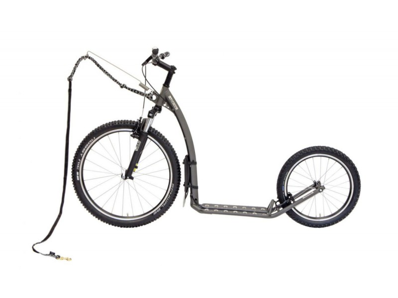 5. Kostka Footbike - Mushing Fun G5 Grey