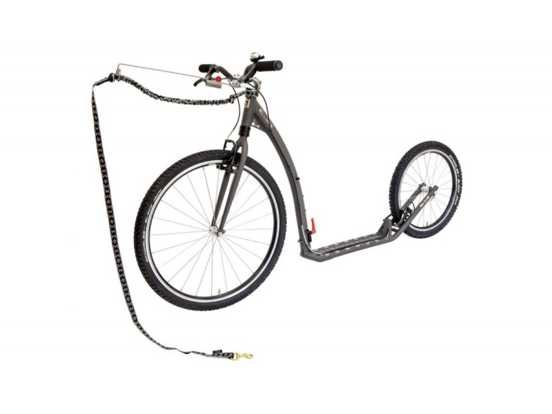 1. Kostka Footbike - Tour MAX Fold Dog G5 Mystic Grey