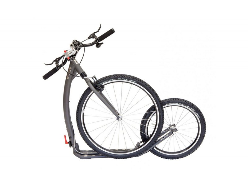6. Kostka Footbike - Tour MAX Fold Dog G5 Mystic Grey