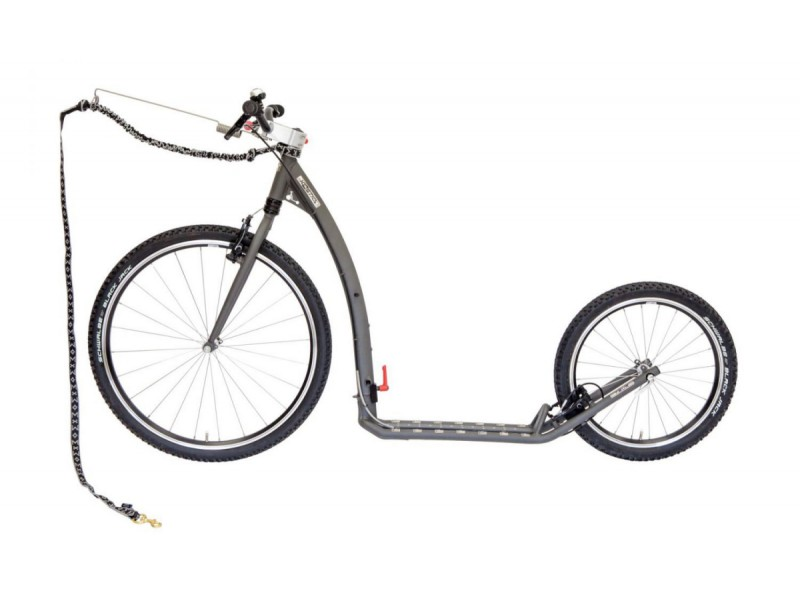 9. Kostka Footbike - Tour MAX Fold Dog G5 Mystic Grey