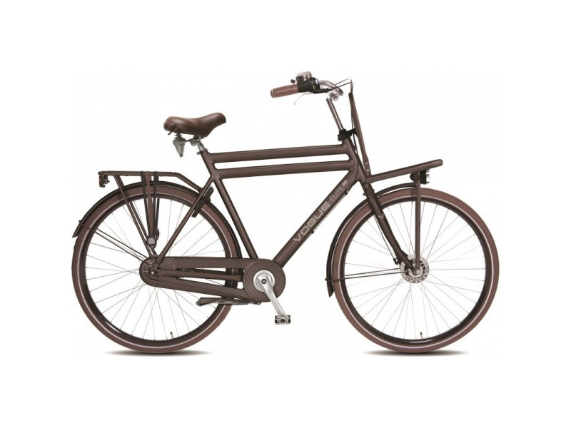 Transportfiets - Vogue Elite Plus 8SP Mat Bruin Heren 50cm