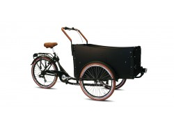 Bakfiets - Troy 7-speed matzwart