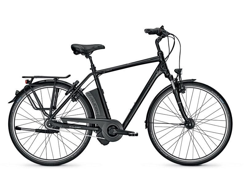 1. Elektrische herenfiets - Raleigh Dover Impulse 8-spd HS 17AH