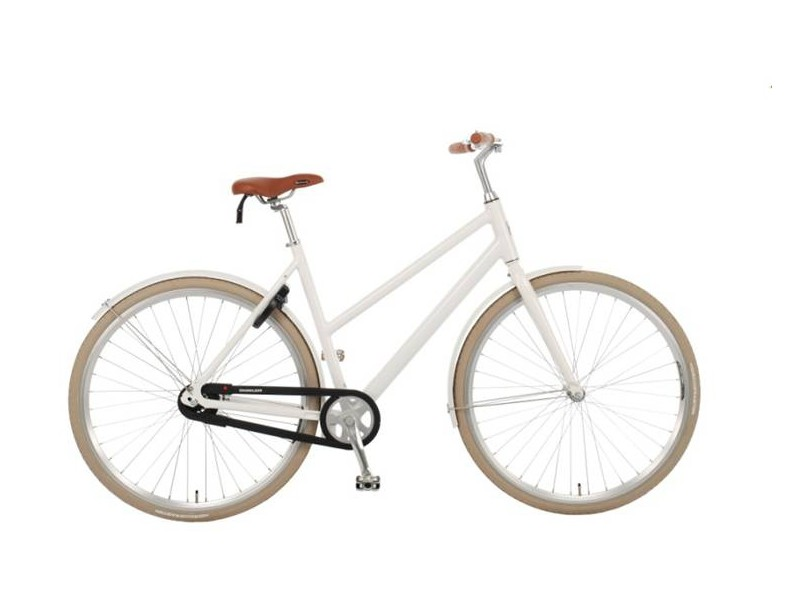Damesfiets 28 inch - MG City Bike lady white