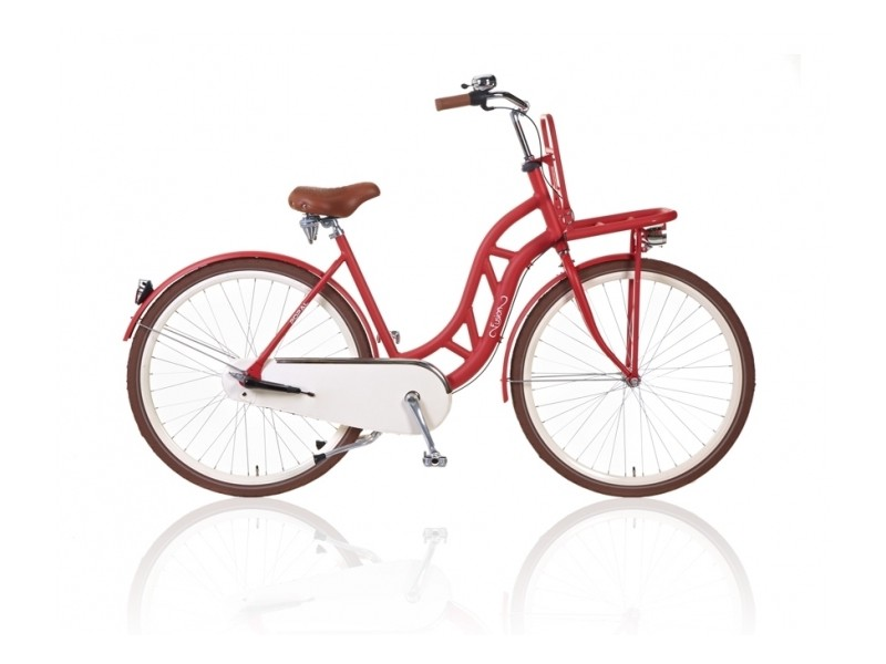 Transportfiets 28 inch - Fusion Mat Rood