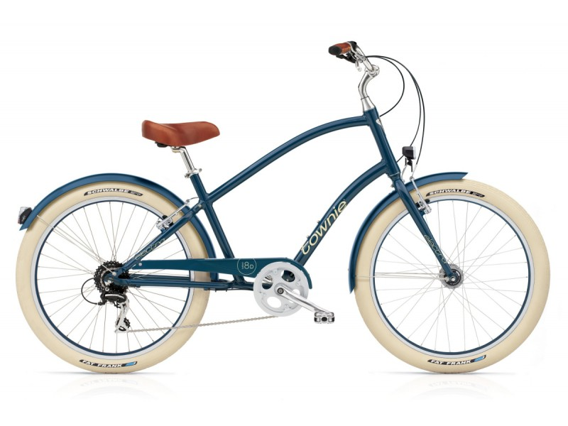 Herenfiets - Electra Townie 8D EQ Balloon navy
