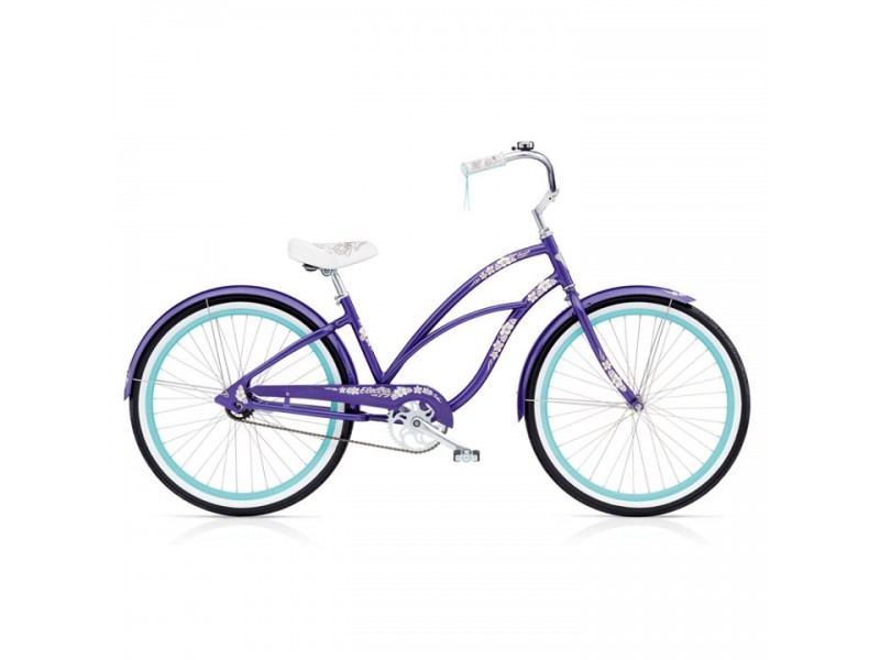 Cruiser 26 inch - Electra Cruiser Hawaii 3i purple metalic