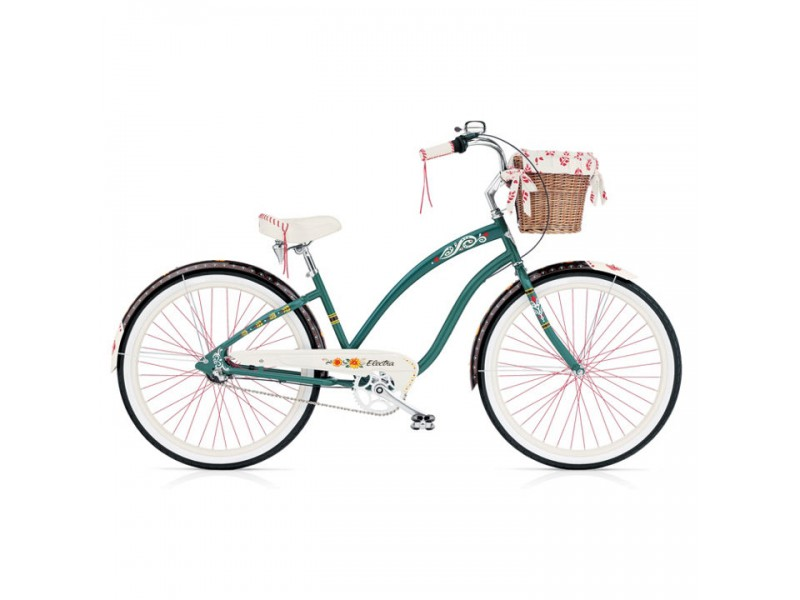 Cruiser 26 inch - Electra Cruiser Gipsy 3i forest green ladies
