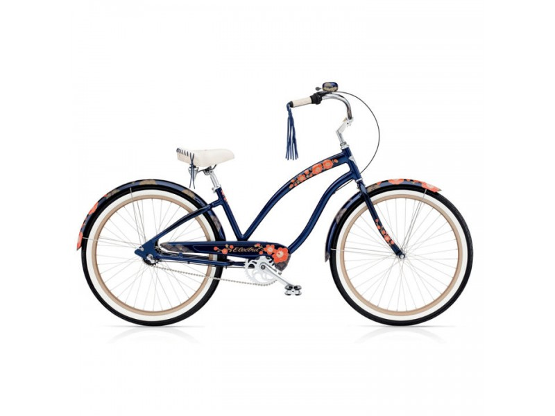 Cruiser 26 inch - Electra Cruiser Hanami 3i midnight blue ladies