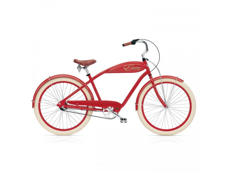 Cruiser 26 inch - Electra Indy 3i red men