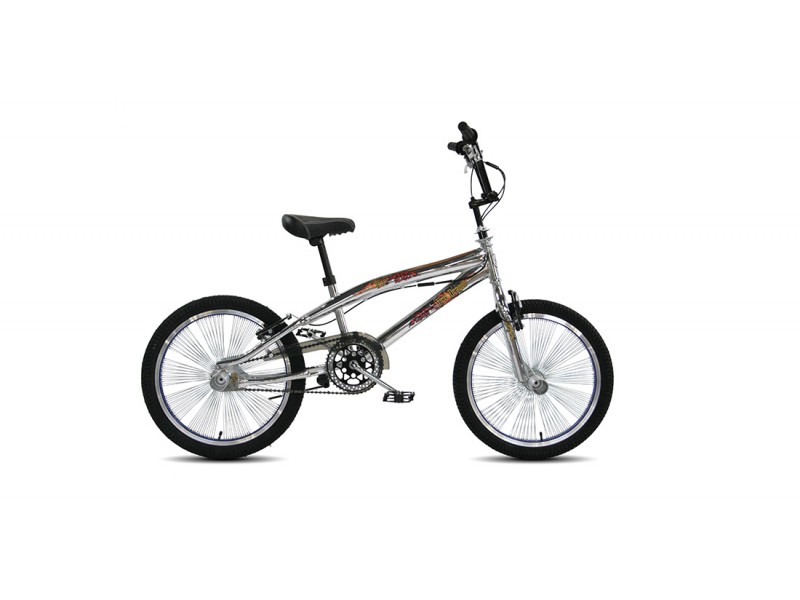 Freestyle BMX 20inch - Troy Freestyle chrome