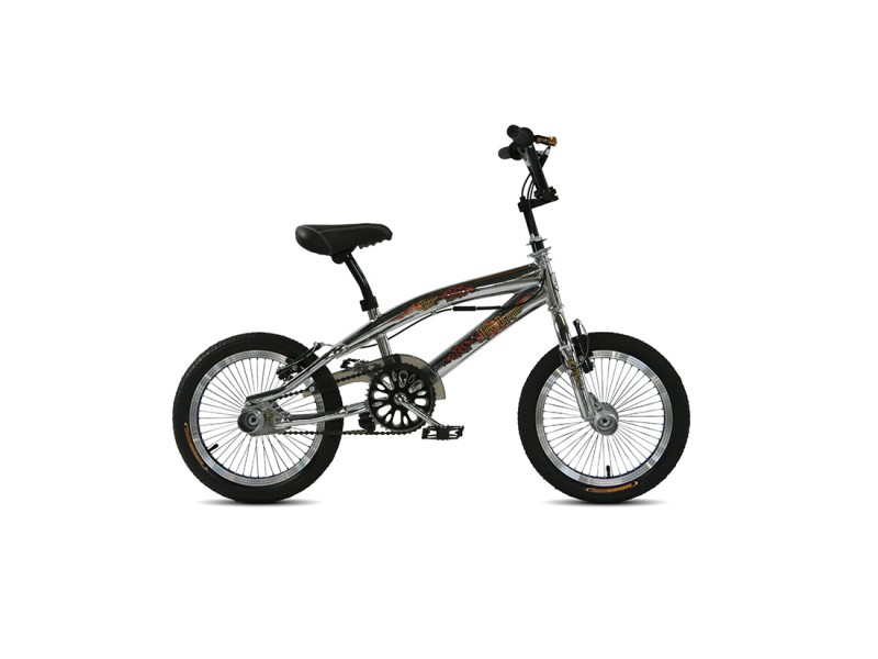 Freestyle BMX 16inch - Troy Freestyle chrome