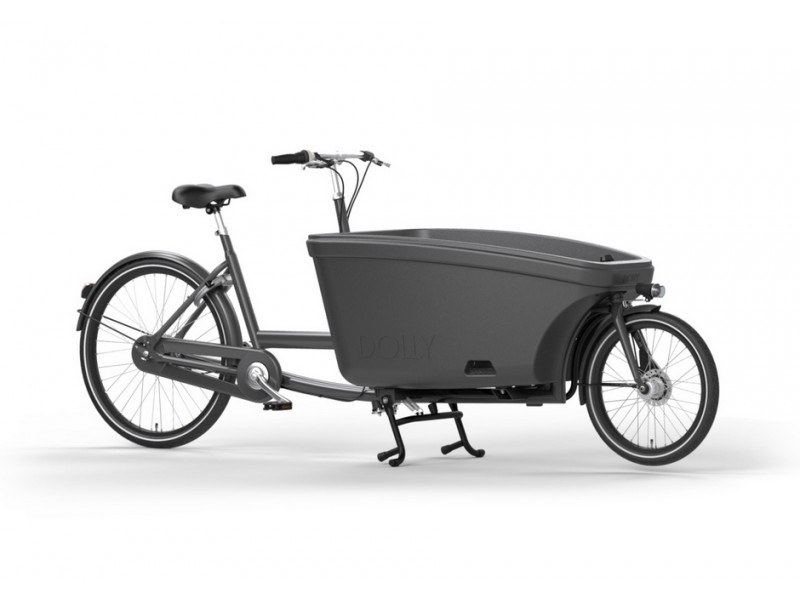 Tweewiel bakfiets - Dolly E-Drive 8-speed ShadowGrey-antracitegrey