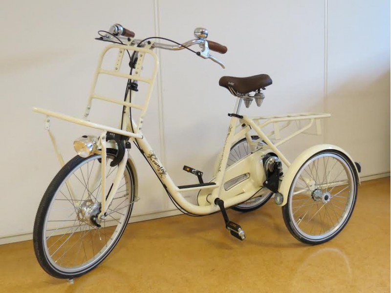 1. Volwassen Driewielfiets Elektrisch - Huka City 8-speed Heinzman 24inch Country
