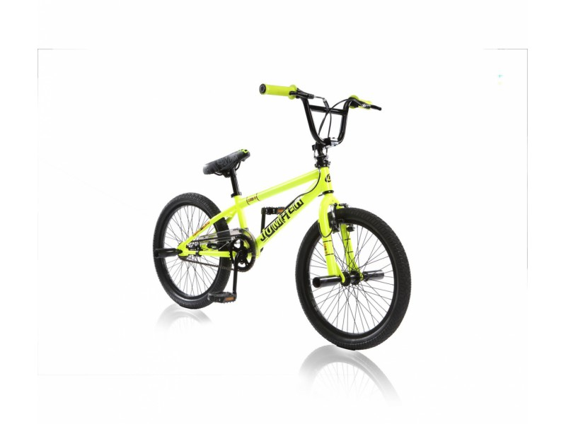 Freestyle BMX 20 inch - Jumper geel