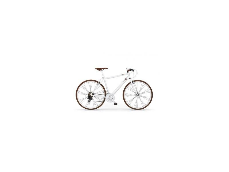 Herenfiets 28inch - MBM Life 21-speed wit