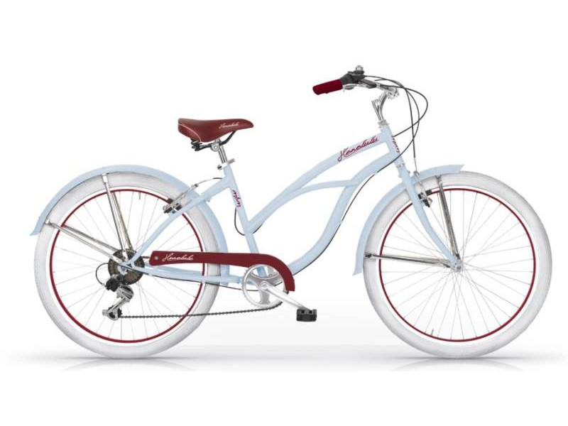Beachcruiser 26 inch - Honolulu blauw